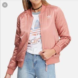 Adidas Satin Bomber Jacket